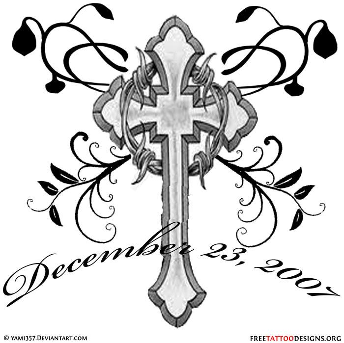 700x699 50 Cross Tattoos Tattoo Designs Of Holy Christian, Celtic