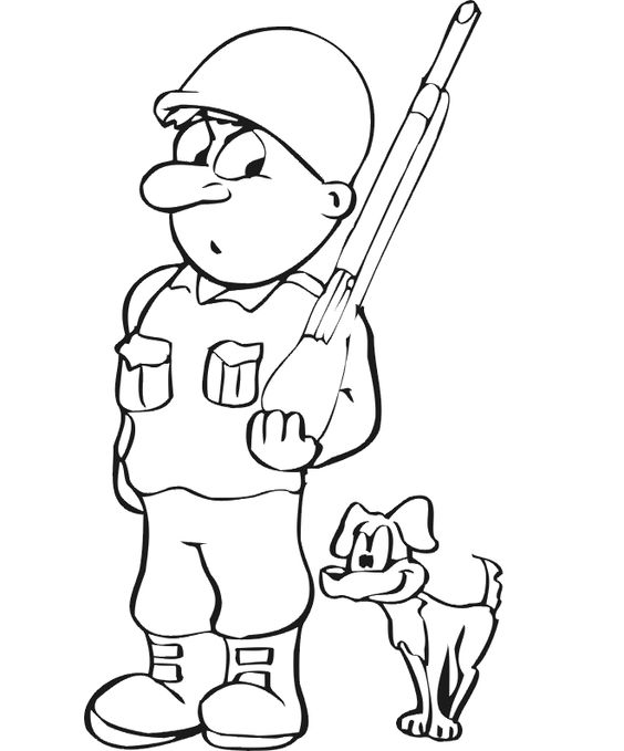 564x679 Soldiers Coloring Page Free Download