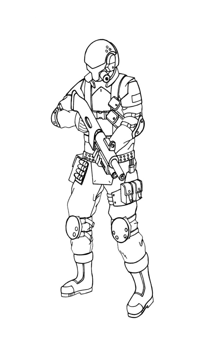 682x1170 Spec Ops Soldier By Phantasmastriker