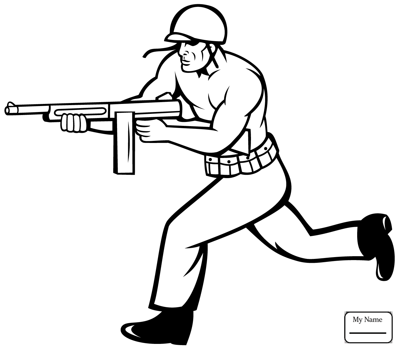 1326x1162 Military Soldiers Colonel Soldiers Coloring Pages
