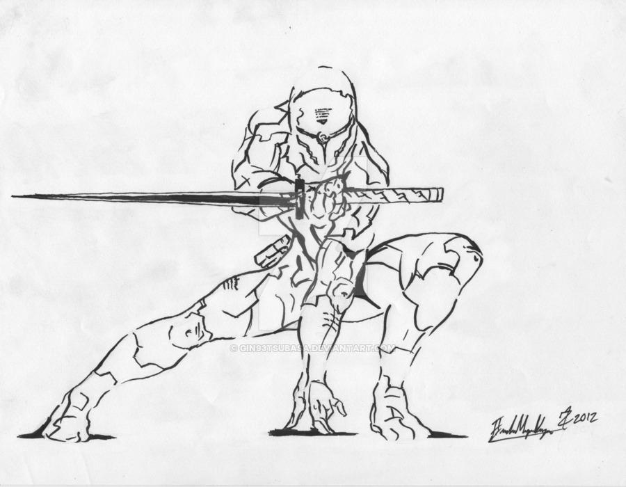 900x700 Cyborg Ninja From Metal Gear Solid By Gin93tsubasa
