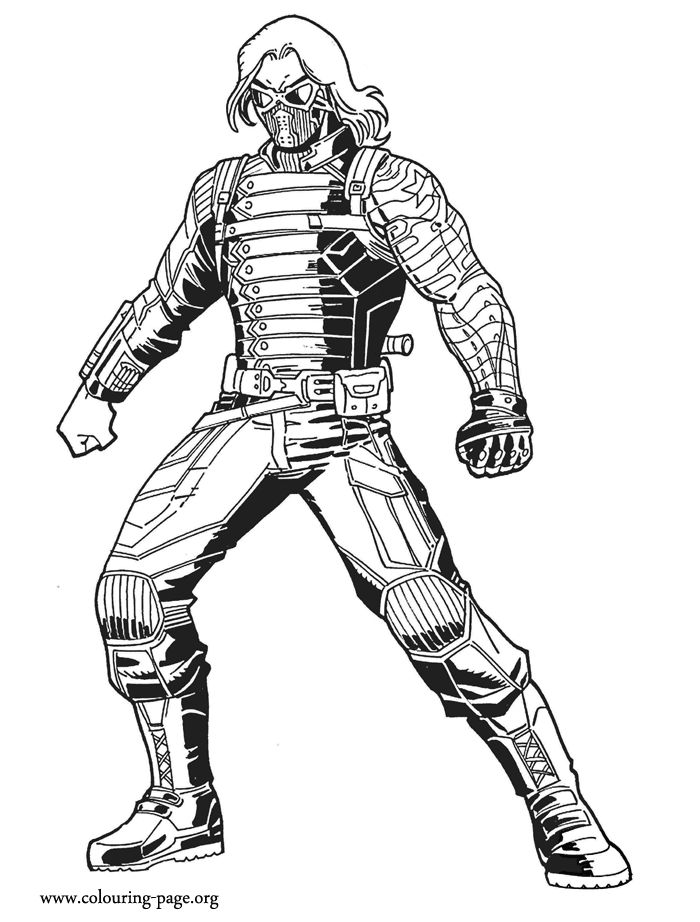 700x922 57 Best Lineart Bucky Barnes Winter Soldier Images