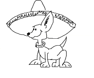 Sombrero Drawing