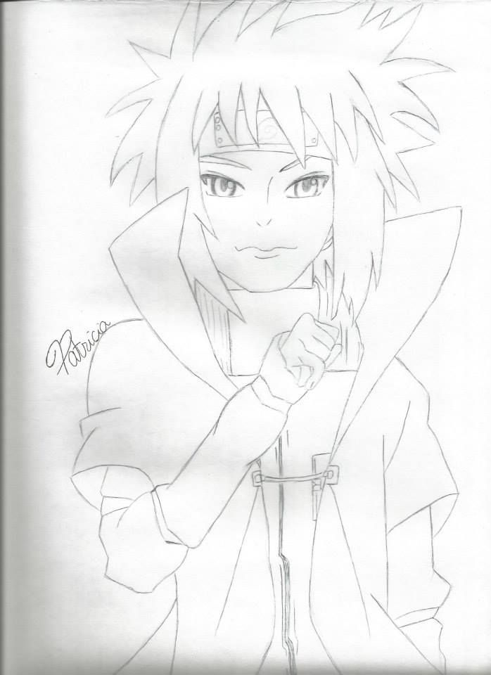 698x960 I Drew Minato From Naruto Its A Drawing Request From Someone