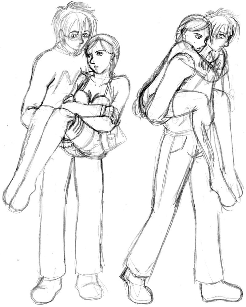800x998 Carrying Someone Reference 1 How To Draw