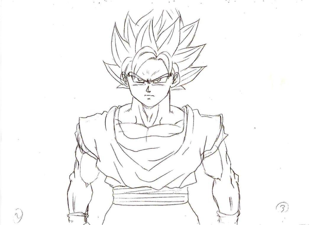 1048x762 Son Goku Ssj Wind Animation By K Nasteam