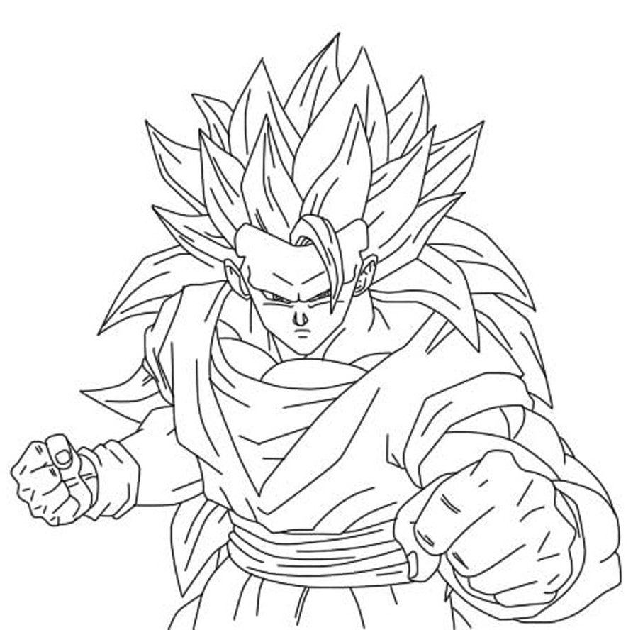 900x888 Dragon Ball Z Son Goku Put On Horse Dragon Ball Z Coloring Pages