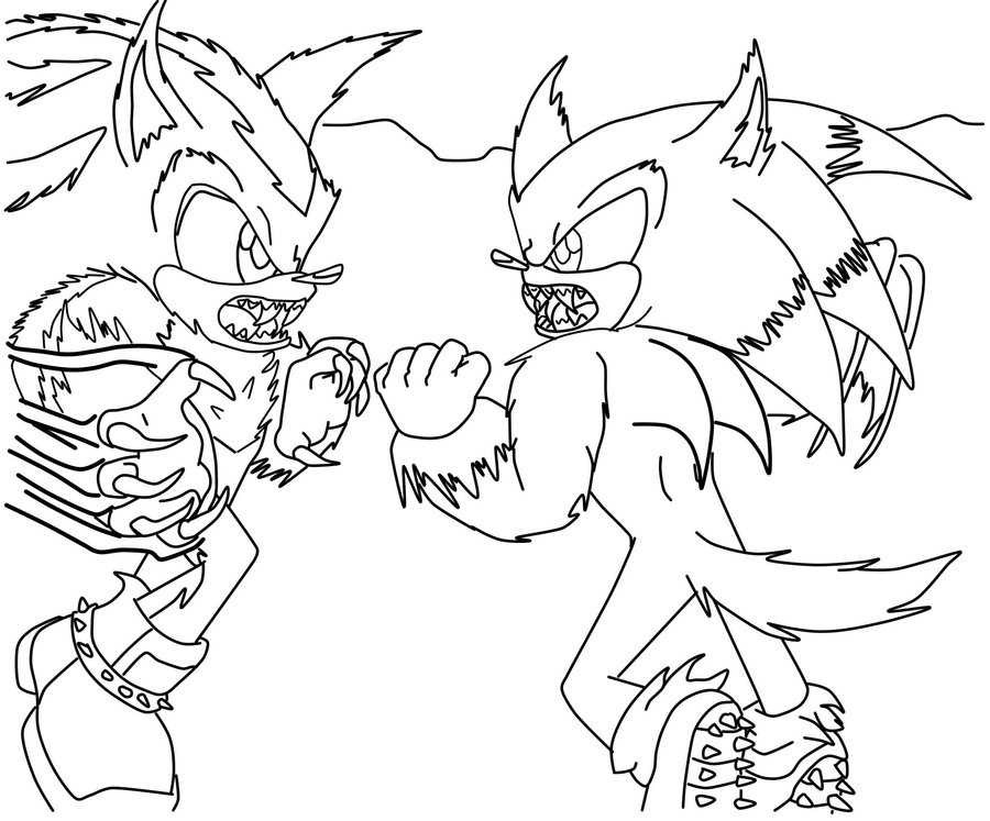 Sonic And Shadow Drawing at GetDrawings.com | Free for personal use ...