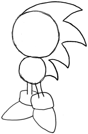 300x457 How To Draw Sonic The Hedgehog