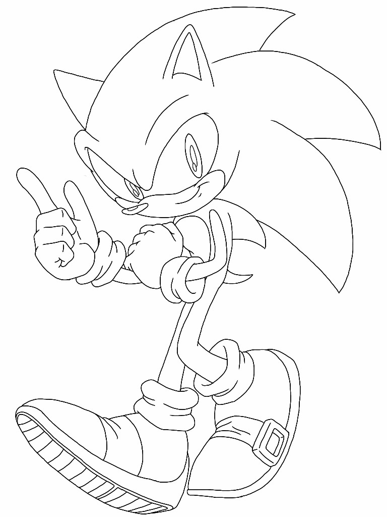 768x1024 Sonic The Hedgehog (Digital Drawing) By Delvallejoel