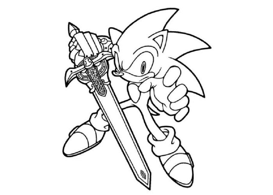 Sonic Drawing Book At Getdrawings Com Free For Personal