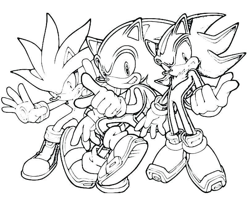 Sonic Drawing Book At GetDrawings