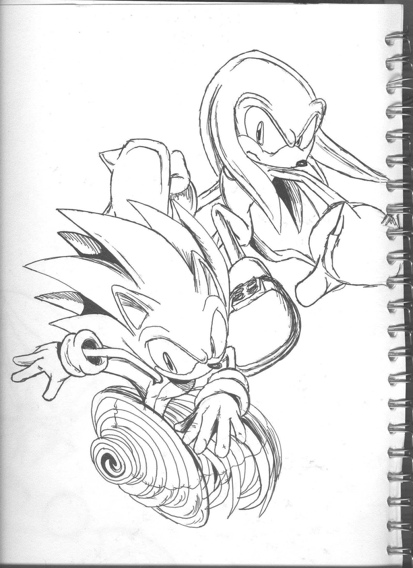 1600x2202 Drawings In The Back Of My Alv Art Book Xd By Lightningchaos2010