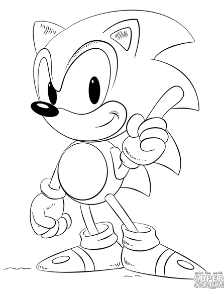 446x575 How To Draw Sonic Step By Step Drawing Tutorials Templates