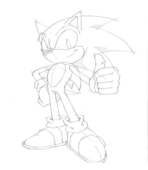 Sonic Drawing Games