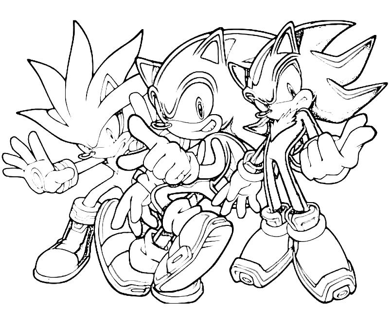 Sonic Drawing Games At GetDrawings