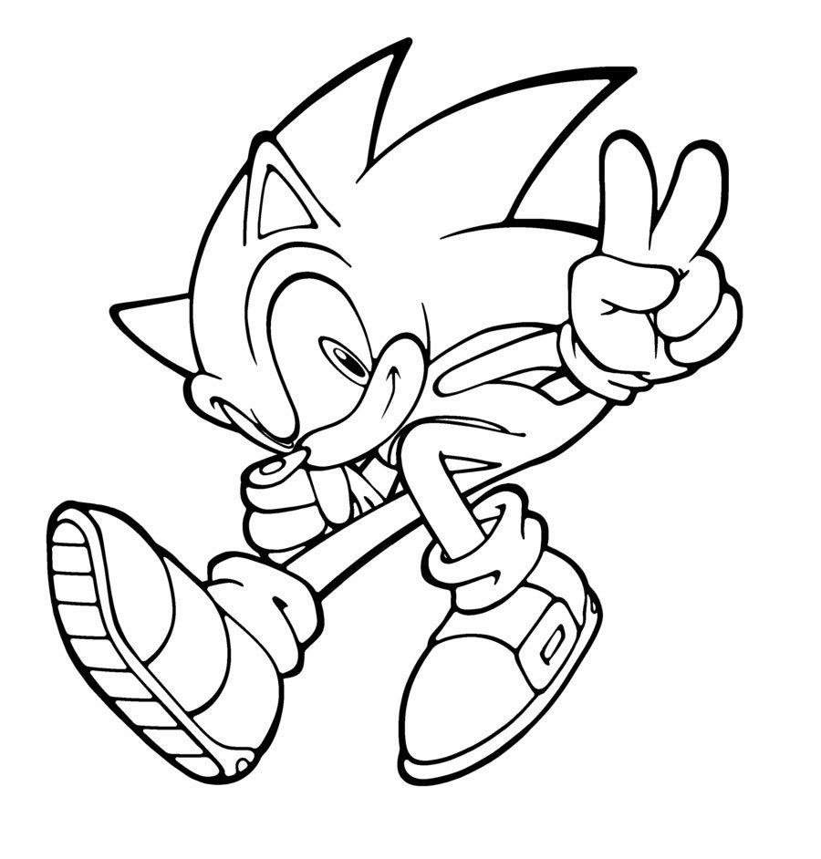 Encantador Sonic The Werehog Para Colorear Embellecimiento ...