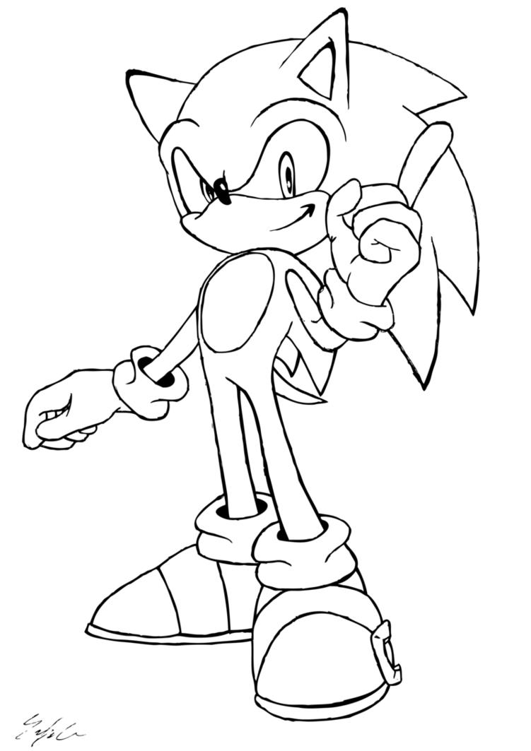 751x1063 Sonic The Hedgehog By Santajack8