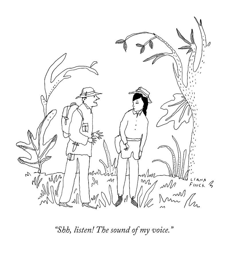 799x900 Shh, Listen! The Sound Of My Voice By Liana Finck