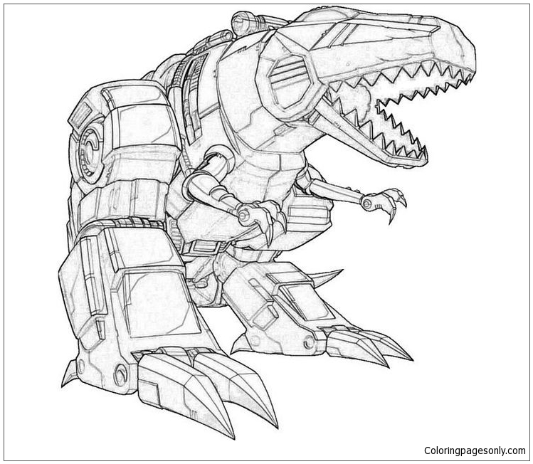 749x652 Sound Wave Transformer Coloring Page