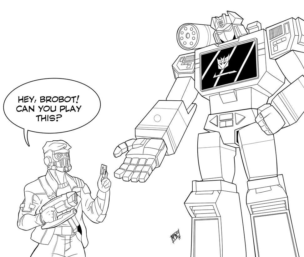 972x822 Soundwave And Starlord By Mono Phos