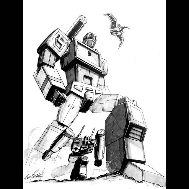 640x640 Soundwave And Friends. Commission Drawn Today