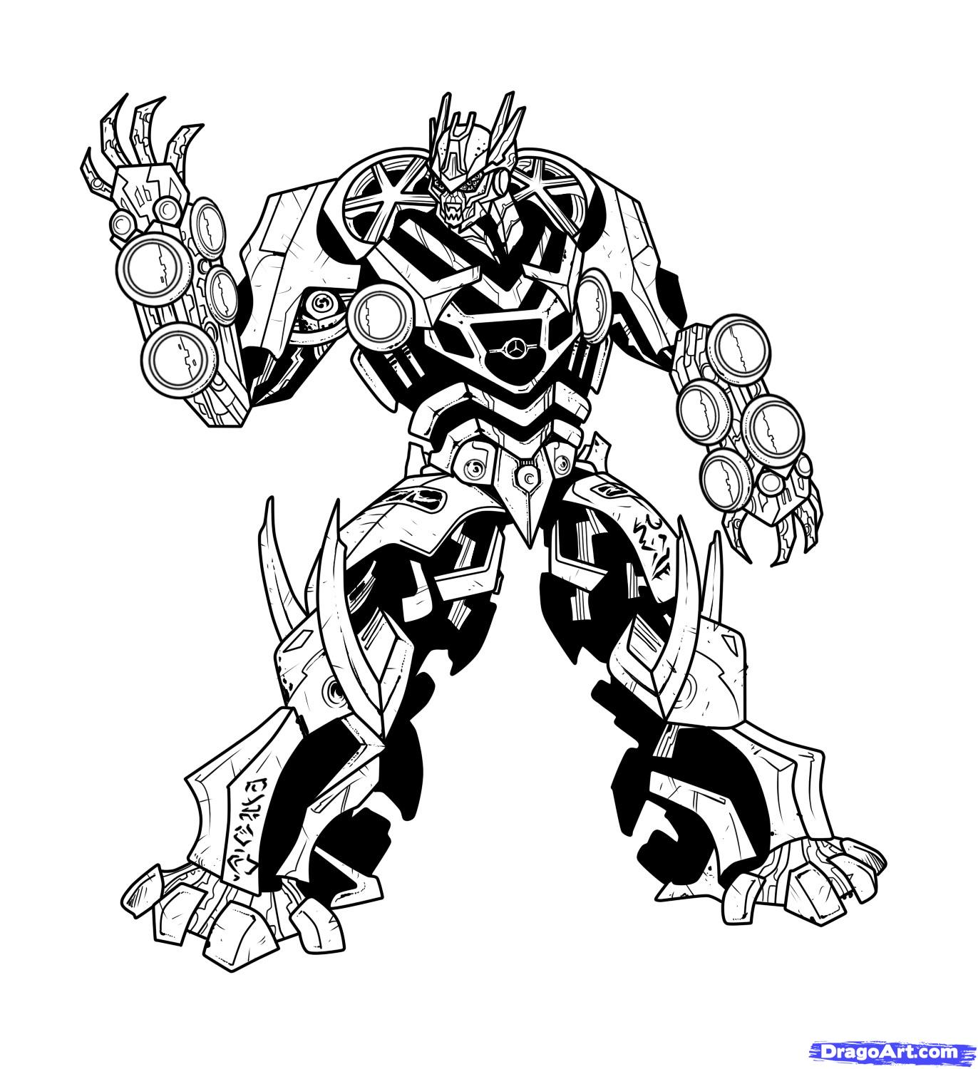 1372x1500 Transformers Coloring Pages Shockwave. Transformers Bumblebee
