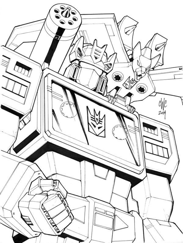 600x797 Transformers Soundwave And Ratbat, In Joel C.'s Comic Book Art