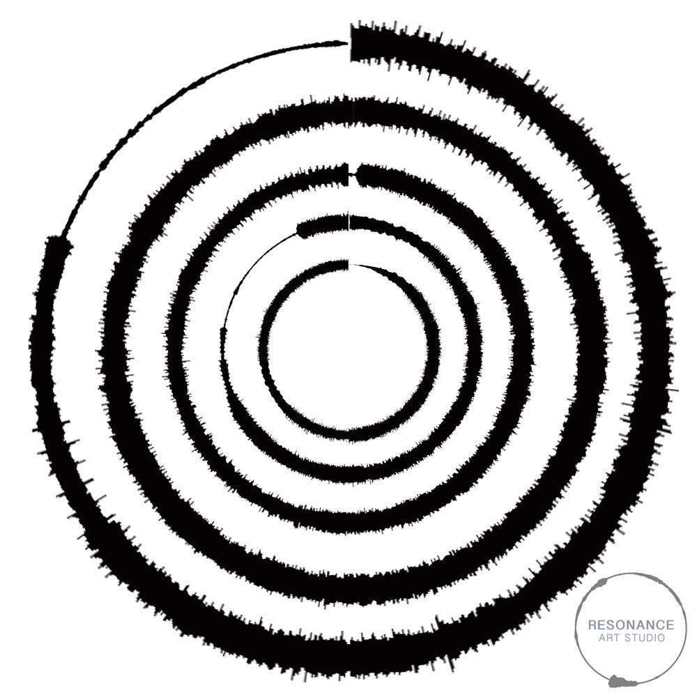 1000x1000 Everlong Digital Sound Wave Design Sound Waves
