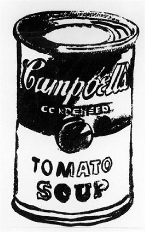 295x470 Campbells Soup Can Tomato Soup By Andy Warhol On Artnet