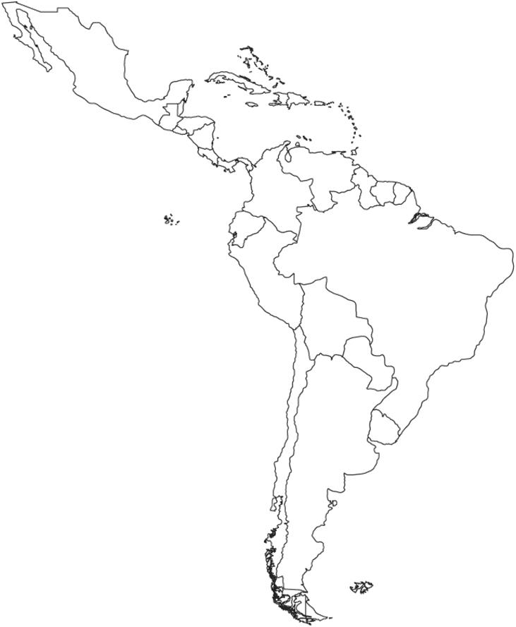 731x888 Learn South America Map (By Cdudley)