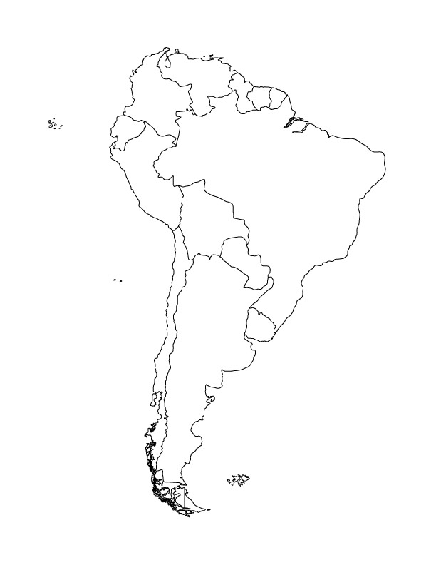 612x792 Find The Currencies Of South America Quiz