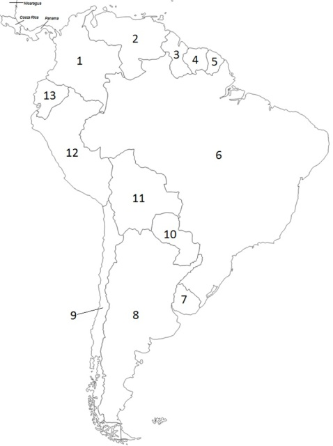 South America Map Drawing At Getdrawings Com Free For Personal Use