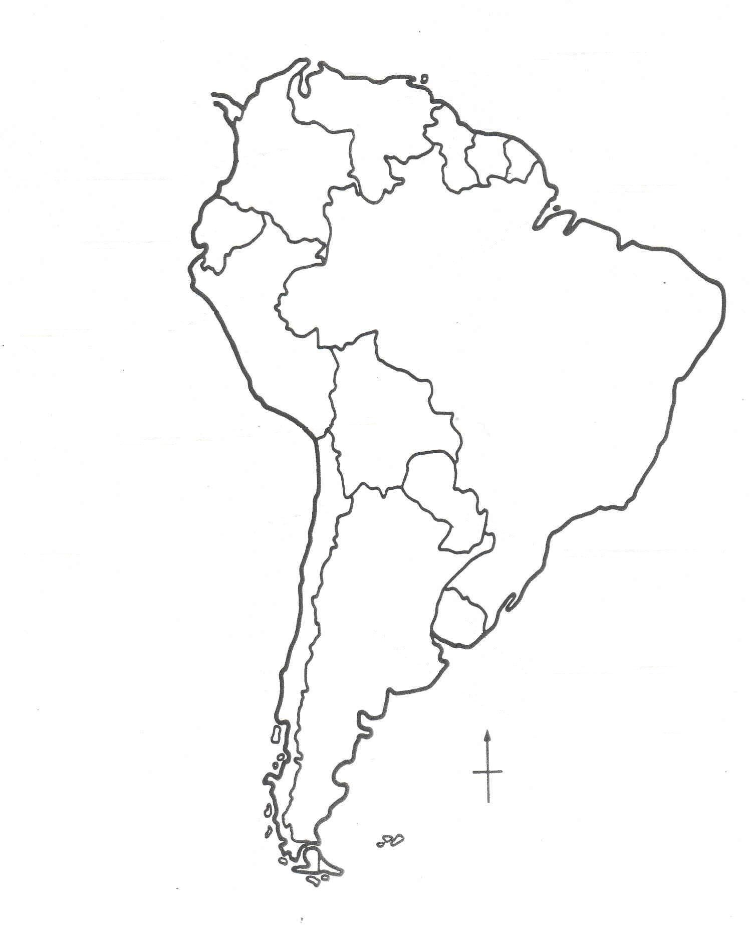 South America Map Drawing at GetDrawingscom Free for personal use
