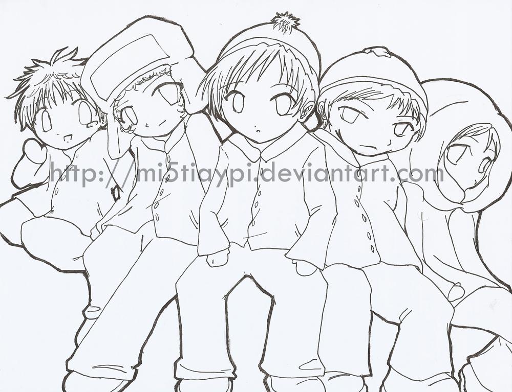 1000x767 South Park Anime Sty + Butters By Mi5tiaypi