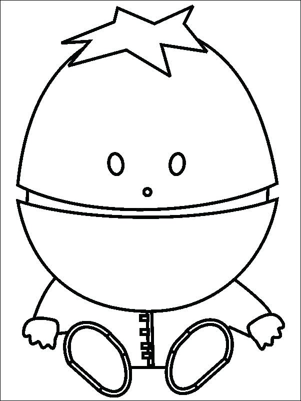 602x802 South Park Coloring Pages Coloring Pages South Park Baby Printable