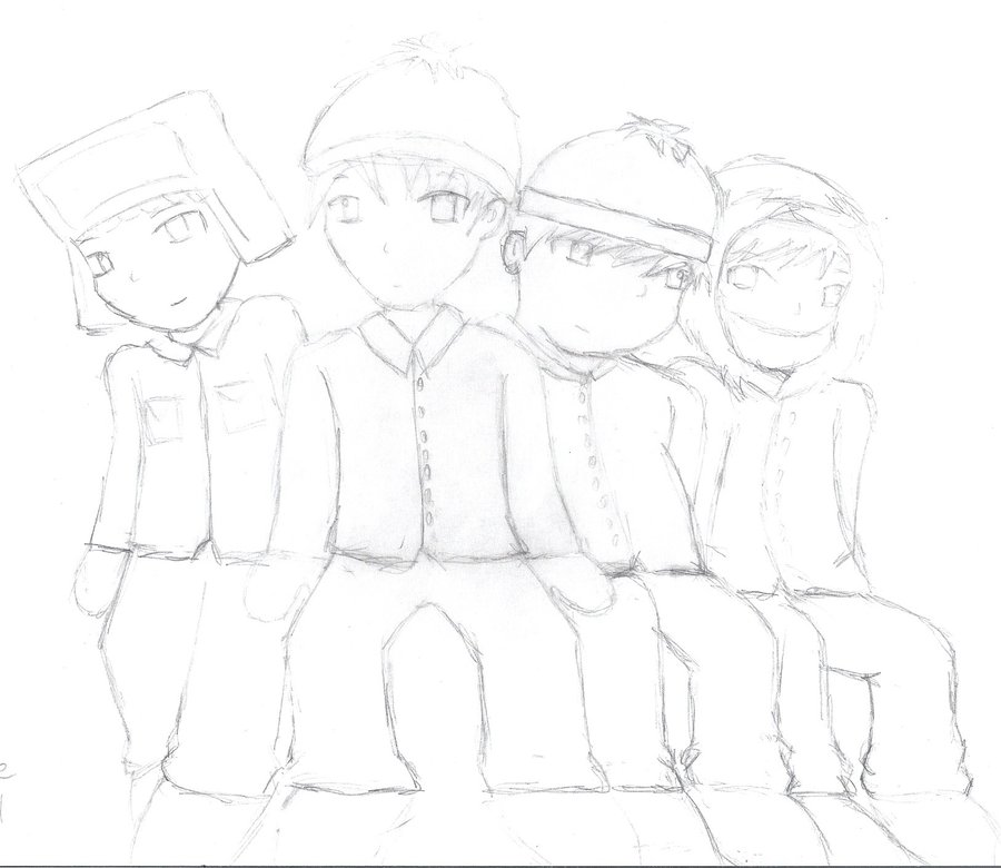 900x780 South Park Drawing By Ridsdaleloveswaffles