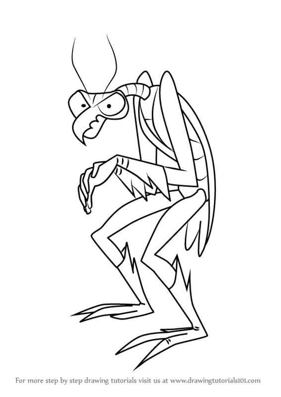 566x800 Learn How To Draw Zorak From Space Ghost (Space Ghost) Step By