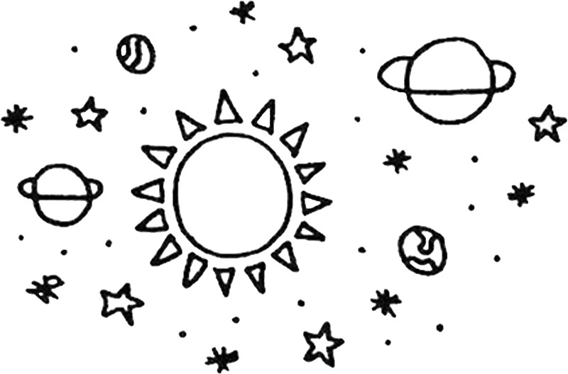 800x528 Space Stickers By Maddycirocco Redbubble