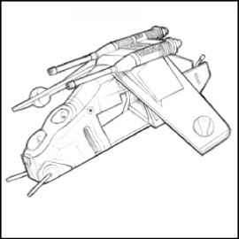 270x270 Star Wars Sketch Ship