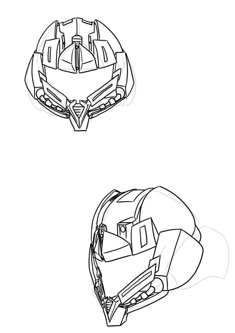 752x1063 Dead Space 2 Power Suit (Helmet) By Ein Panda