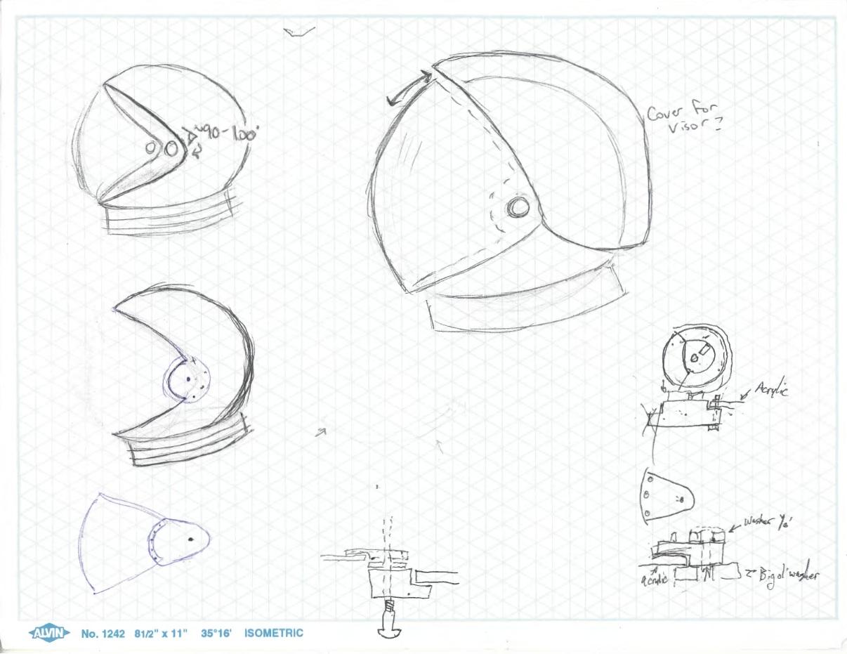 1206x931 Led Space Helmet (October 2012) 2001spacehelmets