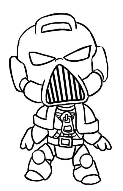 414x641 Sackboy Space Marine W Helmet By Satanicretribution