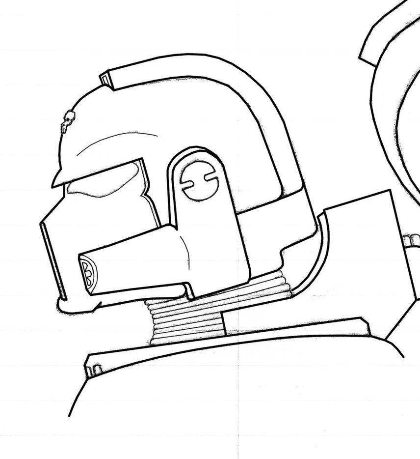 856x934 Space Marine Helmet By Falco4077