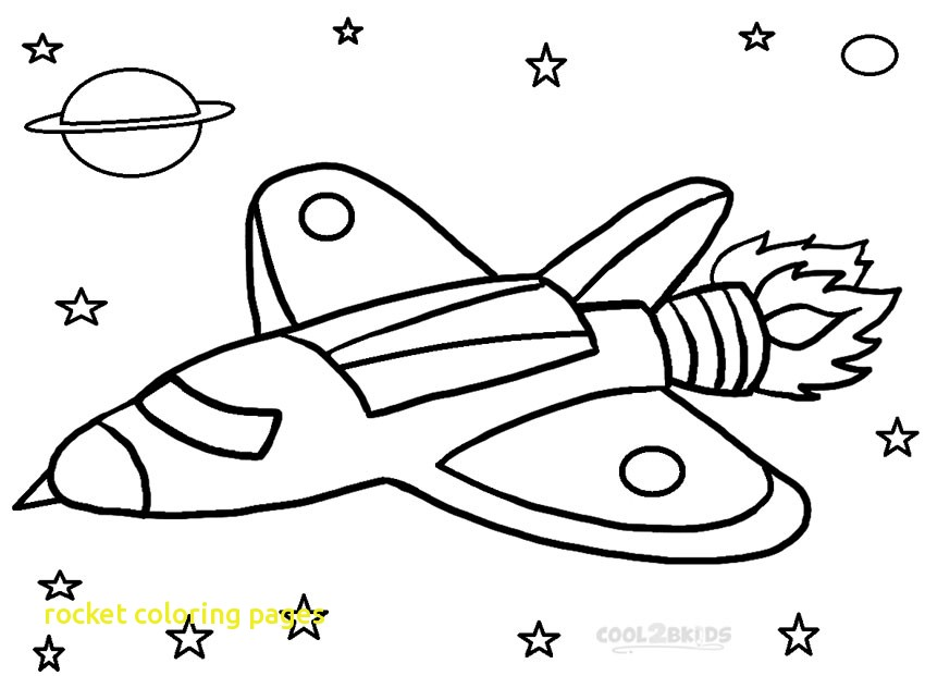 850x621 Rocket Coloring Pages