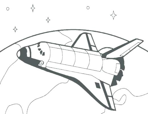 520x401 Space Coloring Pictures Rocket Lego Space Shuttle Coloring Pages