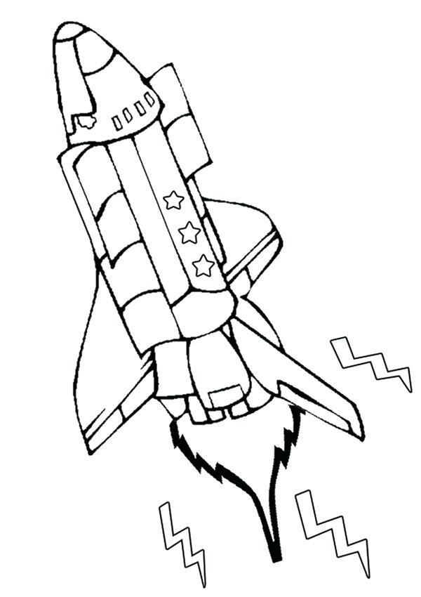 600x850 Space Shuttle Coloring Labeled Space Shuttle Coloring Pages Master