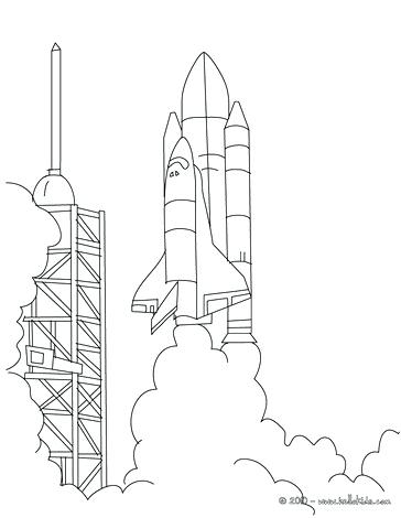 364x470 Space Shuttle Coloring Page Murs