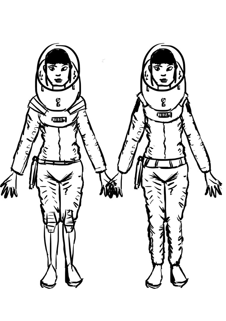 751x1063 Space Girl