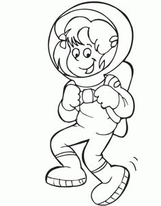 236x301 Astronaut Coloring Pages I How To Draw Astronaut In Space Coloring